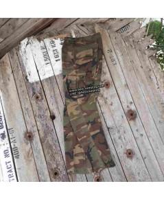 กางเกงทหารลายวู๊ดแลนด์,trousers,combat camouflage  (มือสองสภาพดี)