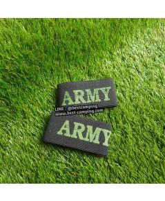 ยางยืดรัดขากางเกงทหารสีดำ , รัดท็อป สีดำ ,ฺ ARMY BOOT BLOUSER