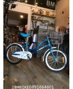 จักรยานแม่บ้าน WCI ล้อ20นิ้ว สีฟ้า