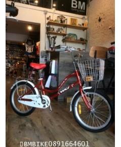 จักรยานแม่บ้าน WCI ล้อ20นิ้ว สีแดง