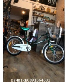 จักรยานแม่บ้าน WCI ล้อ20นิ้ว สีเขียว