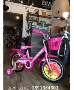 """จักรยานเด็ก KITTY ลิขสิทธิ์แท้  ขนาดล้อ 16"""""""