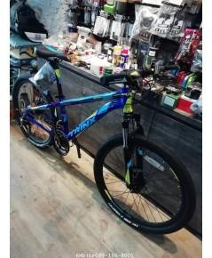 TrinX M134 จักรยานเสือภูเขาล้อ24นิ้ว สีน้ำเงินฟ้า
