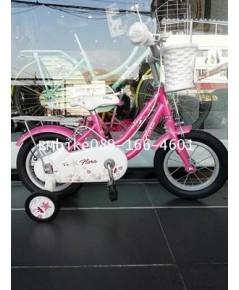 จักรยานเด็ก LA FLORA สีชมพู ขนาดล้อ 12