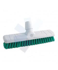 Cotswold.DBS300 12Inch Stiff Poly Deck Brush Head Green