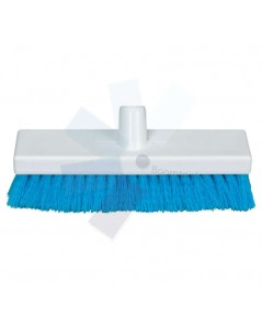 Cotswold.12Inch Soft Poly Sweep Broom Head Blue