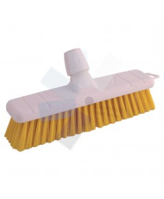 Cotswold.12Inch Soft Poly Sweep Broom Head Yellow