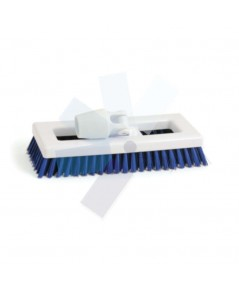 Cotswold.Hygiene Bristle Deck Scrub Brush Blue