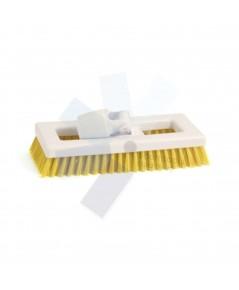 Cotswold.Hygiene Bristle Deck Scrub Brush Yellow