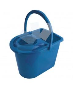 Cotswold.15ltr Plastic Mop Bucket Blue