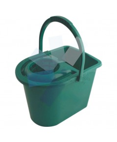 Cotswold.15ltr Plastic Mop Bucket Green