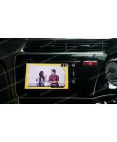 HONDA CITY2014-2015 ฟร้อนท์เดิมๆที่ติดมากับรถ สามารถเพิ่มกล่องทีวีดิจิตอล เอาไว้ติดตามข่าวสารอัพเดท