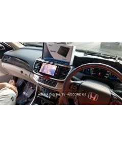New Honda Accord G9เพิ่มระบบทีวีดิจิตอลasukaแบบoem.ครงรุ่นไม่ต้องตัดต่อสายในรถเลย