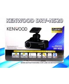 KENWOOD DRV-N520 กล้องติดรถยนต์ที่มีระบบ simplified ADAS ระบบเตือนขับรถออกนอกเลน etc.