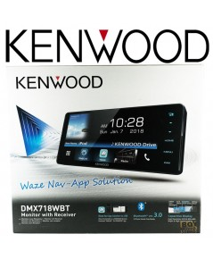 KENWOOD series DMX718WBT หน้าจอCAPACITIVEรุ่นกว้าง200มิล. แบบไม่มีเล่นแผ่น (NO DISC) ใหม่ปี2018