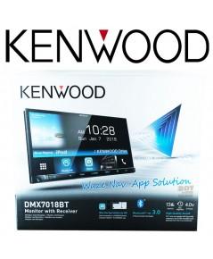 KENWOOD series DMX7018BT หน้าจอทัชสกรีน 7นิ้ว รุ่น180มิล. รองรับใช้youtubeผ่านแอพweblink for kenwood
