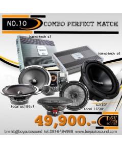set no.10 combo perfect match จัดเต็มระบบ bi amp FOCAL combine ชุดรวมตัวจี๊ด ใช้แล้วสุดทุกระดับ