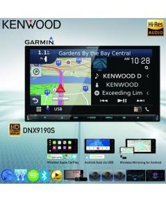 KENWOOD DNX9190S รุ่นtopสุดค่ายเคนวูด  มี GPS garmin แผนที่ software มาพร้อมกับตัวเครื่องเลย สามารถ