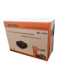 Asuka A-cast กล่องwifi สะท้อนหน้าจอโทรศัพท์ให้ไปออกจอ head unit ในรถ Wifi Mirroring Box