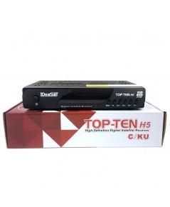 RECEIVER IDEASAT HD รุ่น TOP-TEN H5 (C/KU)