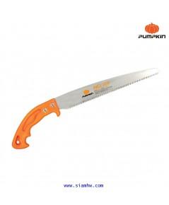 PUMPKIN เลื่อยตัดกิ่งไม้พูลซอ10นิ้ว ใบตรง SK5 ฟัน3หน้า ชุบแข็ง PTT-PS10S