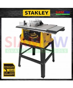 STANLEY โต๊ะเลื่อยองศา 10 นิ้ว รุ่น STST1825 (1800W) (รับประกัน 2 ปี)
