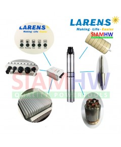 SIAMHW ซับเมอร์ส ปั๊มบาดาล โซล่าร์เซลล์ 4LAR3.5/60-24/500 ท่อส่ง 1 นิ้ว 500W 24V (สำหรับบ่อ4นิ้ว)