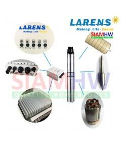 SIAMHW ซับเมอร์ส ปั๊มบาดาล โซล่าร์เซลล์ 4LAR6.1/30-72/650 ท่อส่ง 1 ½ นิ้ว 650W 72V (สำหรับบ่อ4นิ้ว)