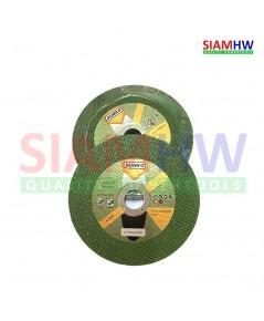 SUNKO ใบตัดสแตนเลส ตัดเหล็ก 4 นิ้ว 1.2 mm MAX 15300 RPM 80m/s