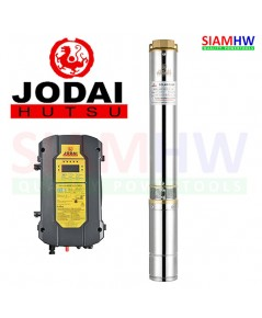 JODAI 4LSC15.5/70-192/1500-H ปั๊มน้ำบาดาล AC/DC Hybrid 192V 1500W(6แผง) 15.5Q บ่อ4 ออก2นิ้ว H.Max70m