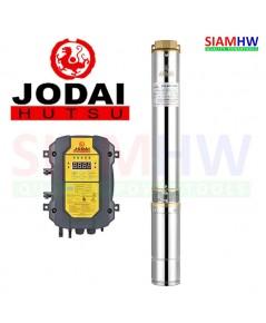 JODAI 4LSC10.0/75-144/1100 ปั๊มน้ำบาดาล DC 144V 1100W (4-6แผง) 10.0Q/H บ่อ4 น้ำออก2นิ้ว H.Max 75m