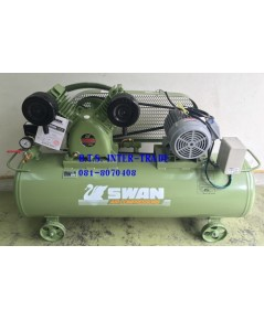 ปั๊มลม สวอน พร้อมมอเตอร์ รุ่น SVP-203/220V-106L