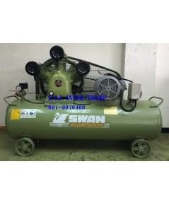 ปั๊มลม สวอน พร้อมมอเตอร์ รุ่น SWP-310/380V-300L
