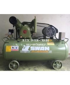 ปั๊มลม สวอน พร้อมมอเตอร์ รุ่น HVP-205/380V-237L รุ่นแรงดันสูง