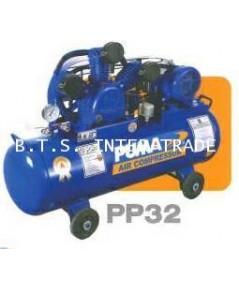 ปั้มลม PUMA พร้อมมอเตอร์ 2 แรง รุ่น PP-32P
