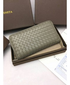 กระเป๋าเงินยาว  Bottega Veneta  ซิปรอบ