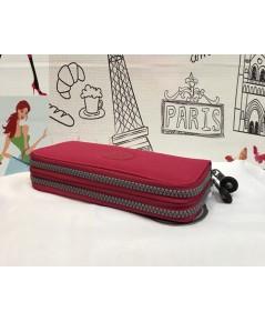 กระเป๋าเงิน Kipling Long Wallet  2 ซิปรอบ