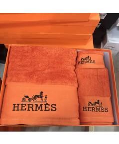 ชุดผ้าขนหนู Hermes 1 กล่องมี 3 ชิ้น