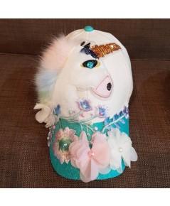 หมวกดอกไม้ ไฮโซสุดๆ