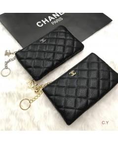 กระเป๋าใส่เหรียญ Chanel คาเวียร์