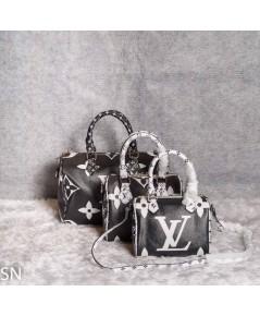 Louis Vuitton Monogram Geant Speedy Bag