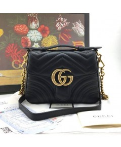GG Marmont Leather  Bag