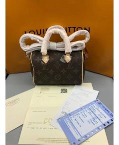 Louis Vuitton Mini HL Speedy Bag