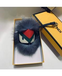 Fendi's Fur Monster Charm Keyrings