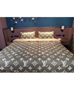 Set ผ้าปูที่นอนลาย LV