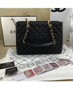 Chanel GST Caviar Leather Coco Bag