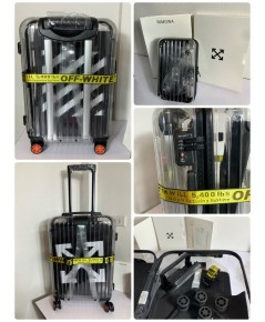 OFF-WHITE X RIMOWA TRANSPARENT LUGGAGE