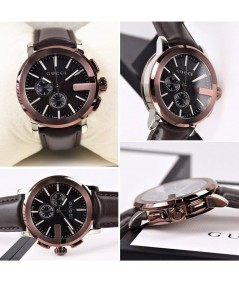 GUCCI WATCH Chrono Chronograph Rose แท้