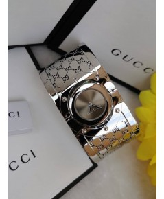GUCCI WATCH The Twirl Brown Dial Womens Quartz  แท้