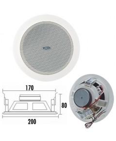KTL T-106U Ceiling Speaker (3W-6W-9W) Spring clip fast installation